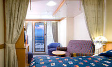Deluxe Family Oceanview Stateroom With Verandah  (4A)