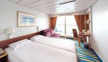 Oceanview Stateroom with Balcony (BA)