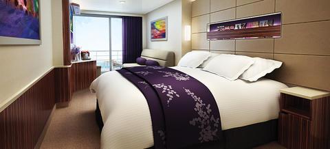 Mid-Ship Mini-Suite with Balcony (MA)