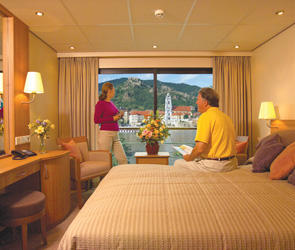 French Balcony Stateroom (AX)