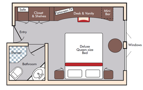 Outside Stateroom (D)
