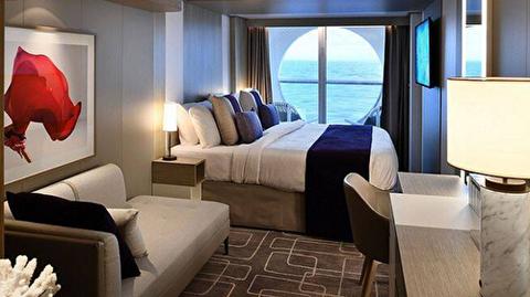 Deluxe Oceanview Stateroom with Veranda