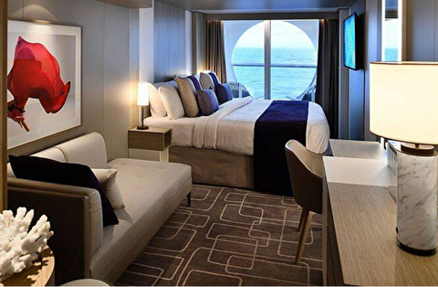 Deluxe Ocean View Stateroom with Veranda