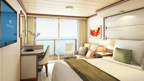 Premium Deluxe Balcony Two Lower Beds