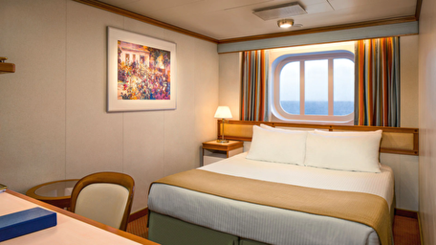 Premium Oceanview Two Lower Beds