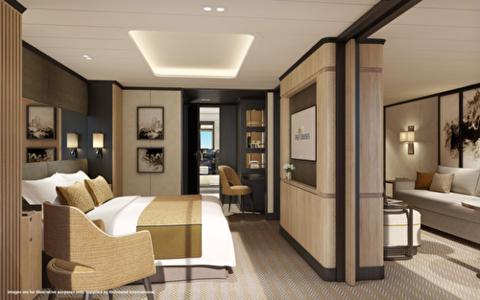 Family Sea View Suite (BA)