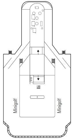 Minigolf Deck