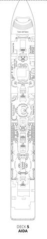 Deck 5 - Aida