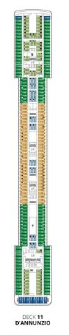 Deck 11 - D Annunzio