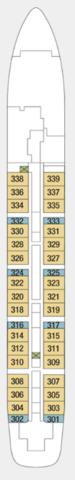 Deck Three (2019 Configuration)