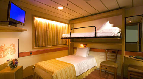 Interior Stateroom - Bunk Bed Style (1A)