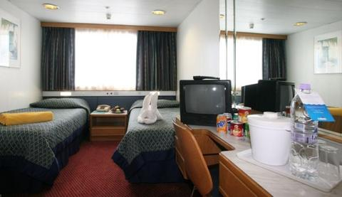 Outside Deluxe Stateroom (XE)