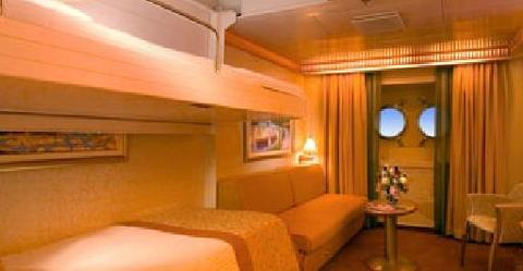 Interior Stateroom - Bunk Bed Style(1A)