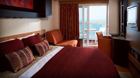 Deluxe Ocean View Stateroom Veranda (2B)