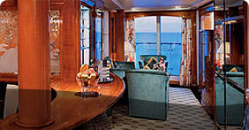 Aft-Facing Owner's Suite with Large Balcony (SB)