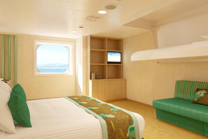 Spa Ocean View Stateroom (Obstructed View) - (6S)