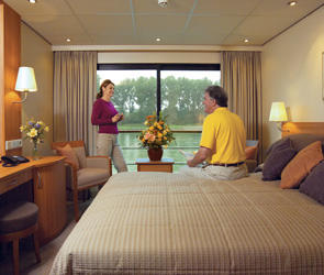 French Balcony Stateroom (A)