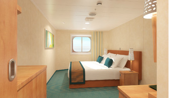 Interior Stateroom (Obstructed Views) - (4J)