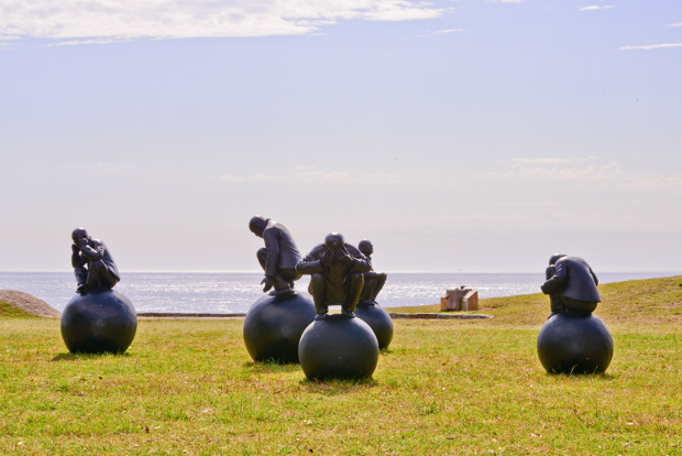 wang shugang sculpture by the sea 2015