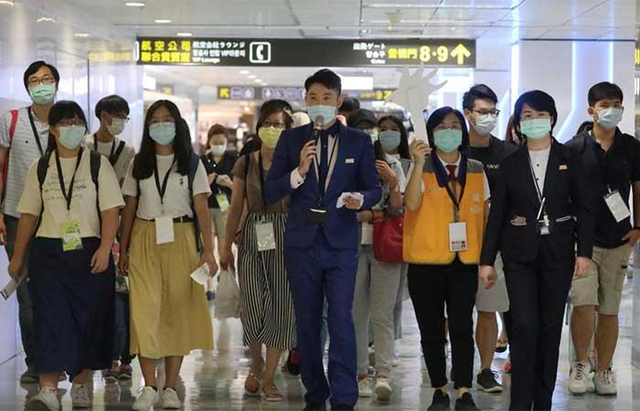 Taipei fake flights to nowhere