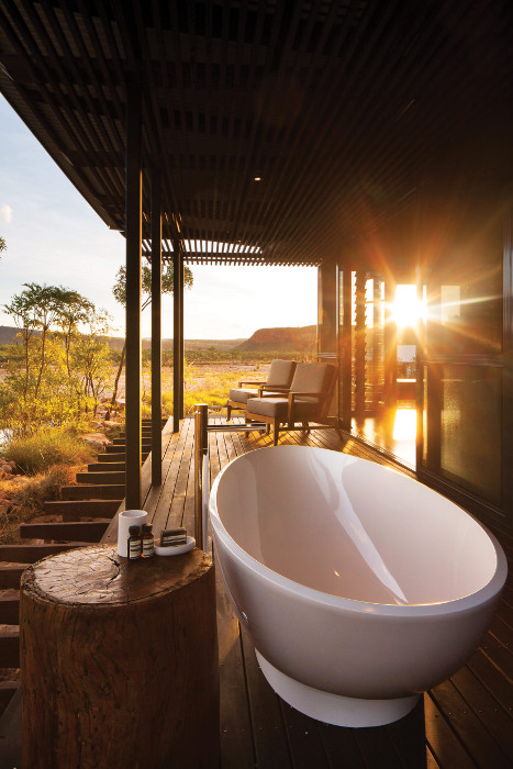 el questro western australia outdoor bath