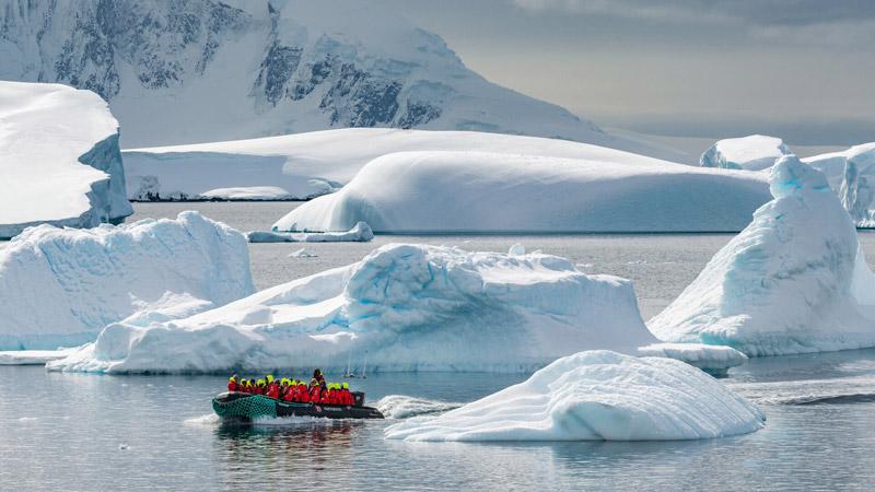Cuverville Island, Antarctica. Image: Karsten Bidstrup for Hurtigruten