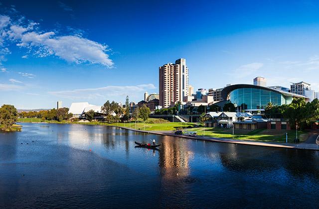Adelaide South Australia Riverside