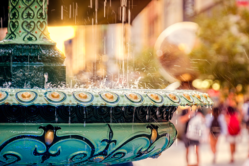 Adelaide Arcade Fountain Rundle Mall