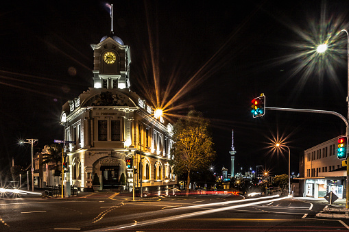 Ponsonby at night, Auckland New Zealand