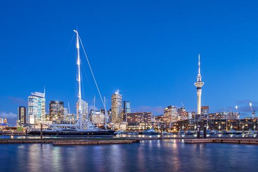 Viaduct Harbour Auckland New Zealand