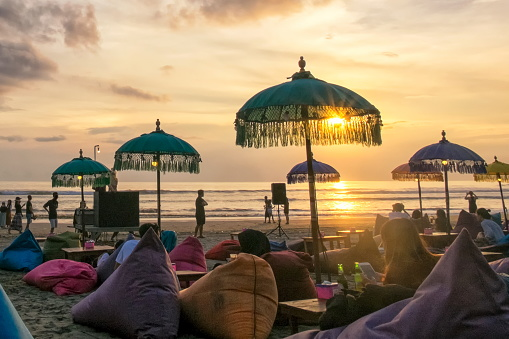 Seminyak Beach Bali, Indonesia
