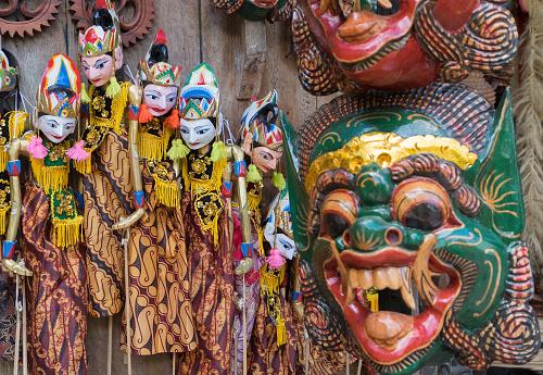 Tourist Souvenirs in Bali Indonesia