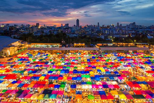Chatujak market bangkok thailand