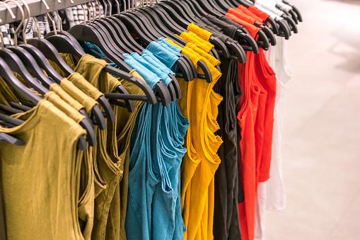 Clothing Sale Rack Bangkok Thailand
