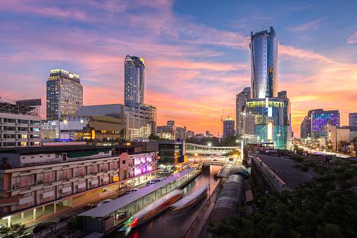 Skyscraper Pratunam Bangkok