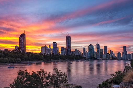 Brisbane City Brisbane Queensland Australia