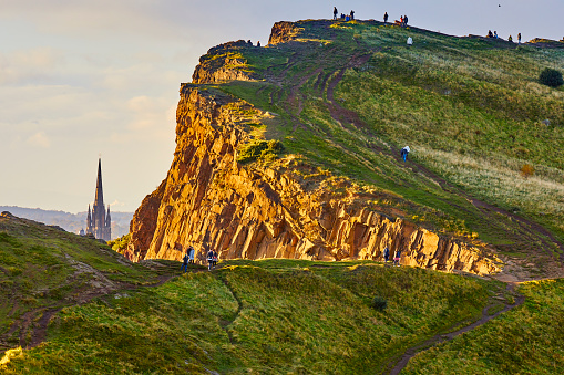 Holyrood Park Edinburgh Scotland
