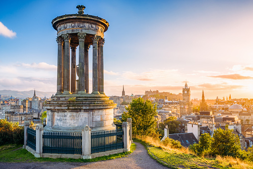 Calton Hill Edinburgh Scotland