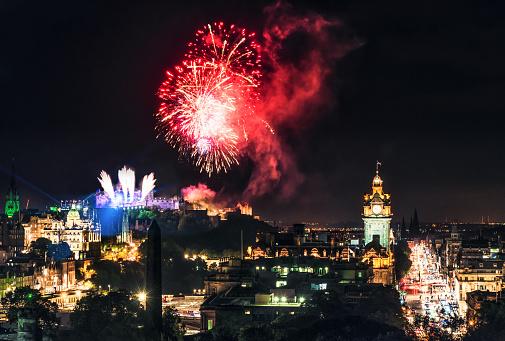 Edinburgh Fireworks Scotland