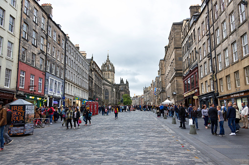 Royal Mile Edinburgh Scotland