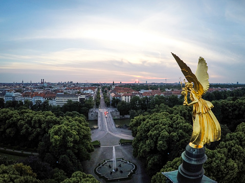 Angel of peach munich