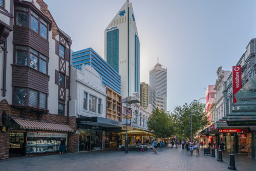 Hay Street Mall Shopping in Perth