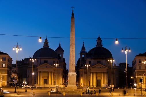 Piazza del Popolo and the Tridente, Rome, Italy