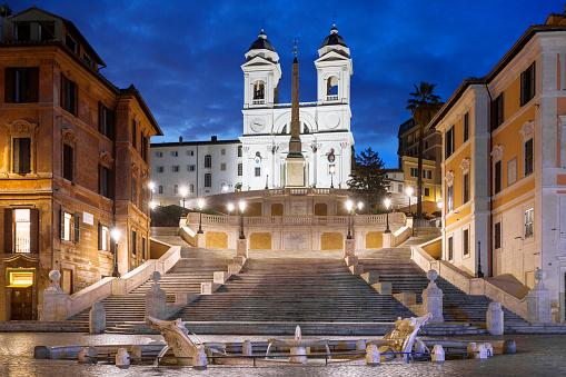 Spanish Steps Scalinata di Trinità dei Monti Rome Italy
