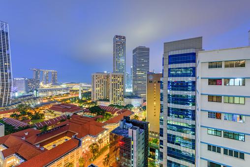 Bras Basah Road Singapore
