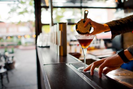 A bar in sydney
