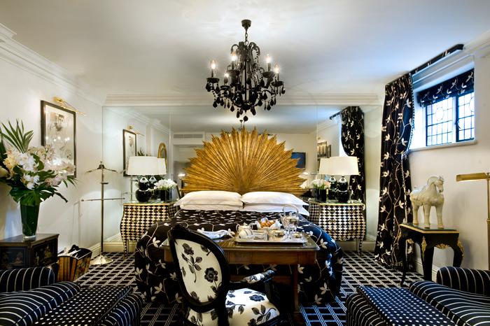 The Milestone Kensington Hotel review - Harlequin Suite