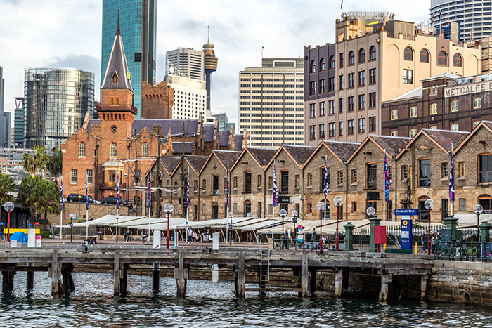 The Rocks and its historic buildings inspire creativity