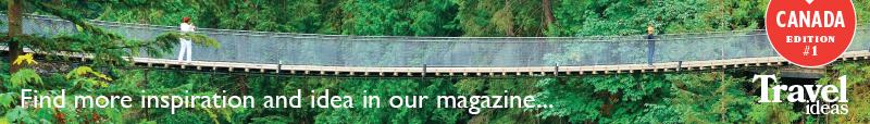 travel ideas canada banner