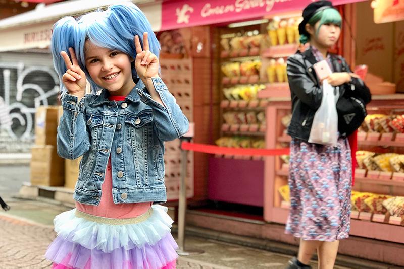 Girl in Harujuku, Tokyo